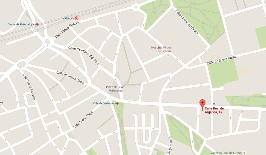 Calle Real de Arganda, 42 - Google Maps