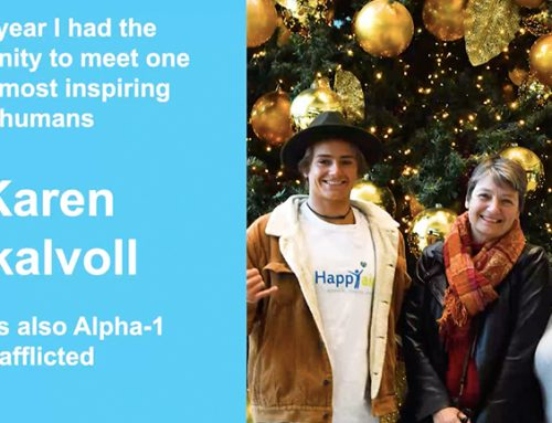 Arran Strong y Karen Skalvoll comparten sus desafíos Alpha-1