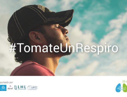En septiembre #TomateUnRespiro